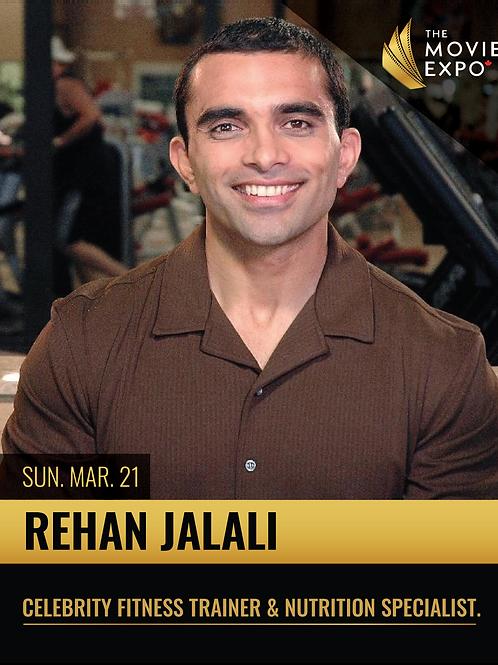 Rehan Jalali - Sun, Mar 21 -