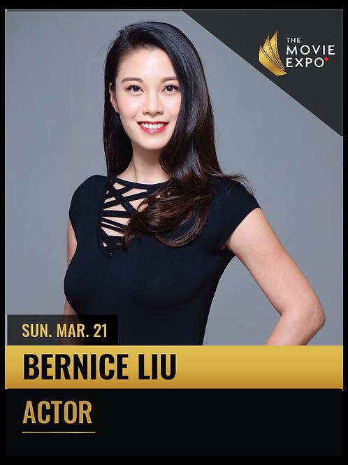 Bernice Liu - Sun, Mar 21 -