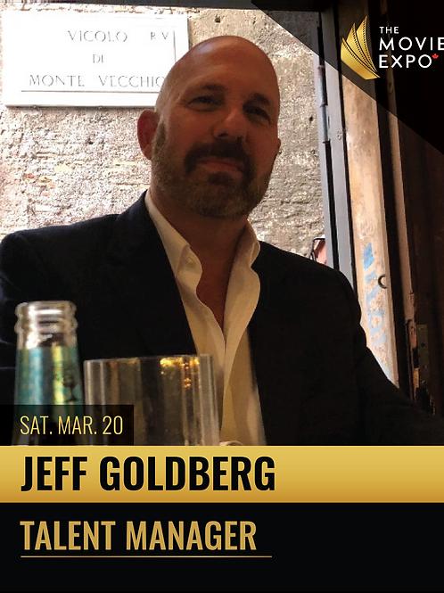 Jeff Goldberg - Sat, Mar 20 -