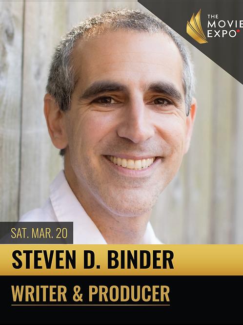 Steve Binder - Sat, Mar 20 -