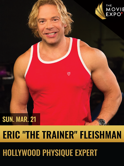 Eric (The Trainer) Fleishman - Sun, Mar 21 -