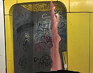 """""""ein/riss"""", photo print, 2017"""