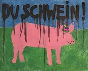 """""""du schwein!"""", digi-file, 2021"""