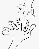 """my hands"", digi-file, 2019"