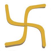 """""""4-facher boomerang (mit rückkehrgarantie)"""", digi-file, 2021"""