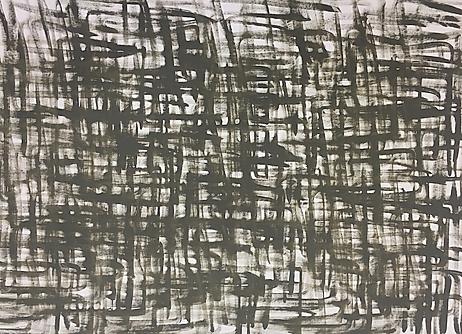 """Viele Hakenkreuze (HK 10)"", oil on canvas, 130x90cm, 2019"