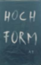 """""""hochformat"""", acrylic on trash bag, 105x65cm, 2019"""