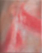 """paul's (scars 5)"", mixed on canvas, 50x40cm, 2019"