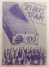 """zizeks traum"", pen on cardboard, 20x30cm, 2018"
