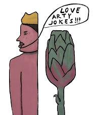 """love arty jokes"", digi-file, 2021"