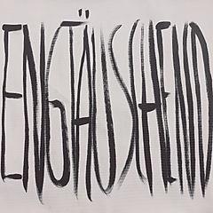 """""""engtäuschend"""", acrylic on canvas, 60x70cm, 2019"""