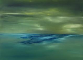 HERZ CHAKRA AKTIVIERUNG UND AUSDEHNUNG 60x80 Öl auf Leinwand  HEART CHAKRA ACTIVATION AND EXPENSION 60x80 Oil on canvas