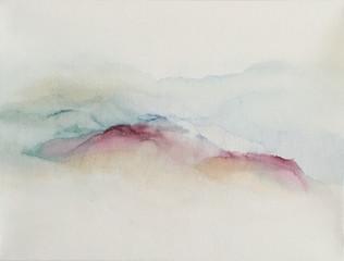 INNERER FRIEDEN 30x40 - Tinte auf Leinwand  INNER PEACE 30x40 Ink on canvas