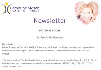 Newsletter September 2021