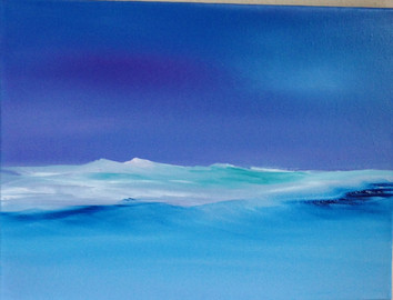 Verkauft 30x40 Öl auf Leinwand  Sold 30x40 Oil on canvas