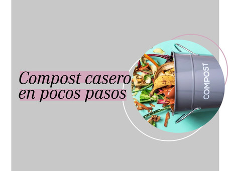 Compost casero en pocos pasos