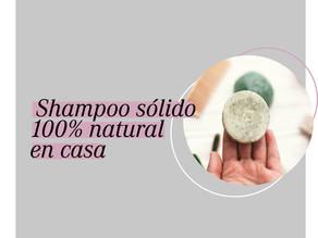 Shampoo sólido: natural y sustentable