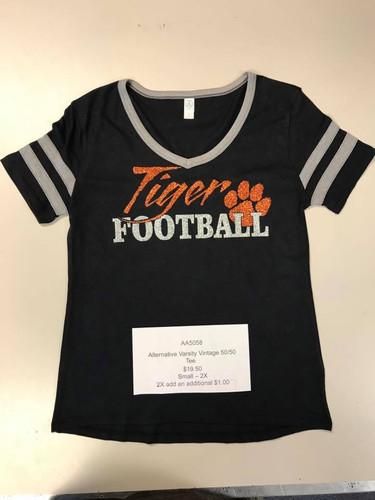 tiger football ladies vintage tee.jpg