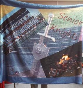 Senior Knights Blanket
