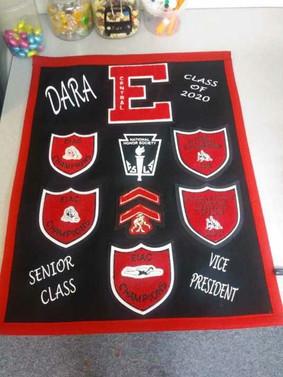 Senior Class VP - Small Blanket