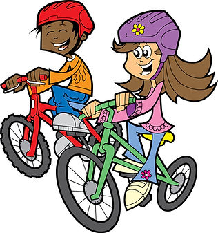 Bicycle-kids-riding-bikes-clipart-free-i