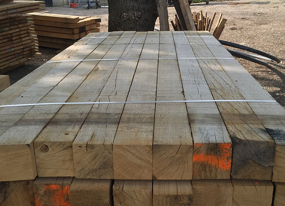 Oak Fencing Post 100mm x 100mm