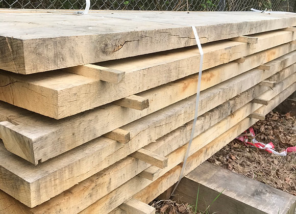 Oak Landscaping Boards/ half sleeper  200 x 50 x 2.4m