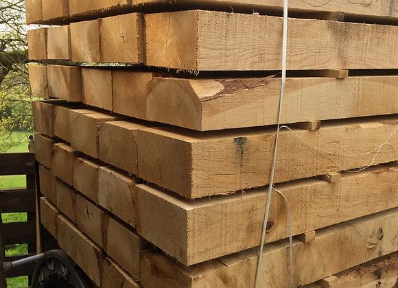 New Oak Sleepers 200 x 100 x 2.0m