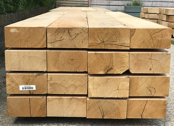 New Oak Sleeper 250 x 150 x 2.6m