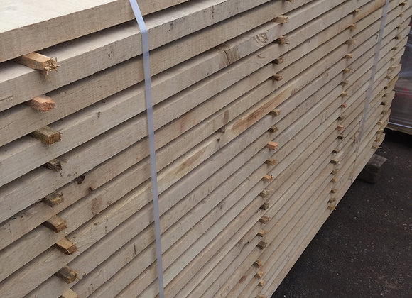 Oak Landscaping Boards 200 x 35 x 3m