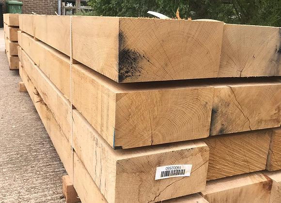 New Oak Sleeper 250 x 125 x 2.6m