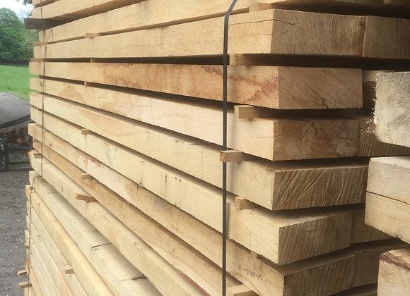 Oak Landscaping Boards/ sleeper  200 x 75 x 2.4m