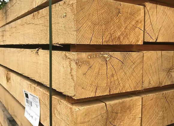 New Oak Sleepers 200 x 100 x 2.4m