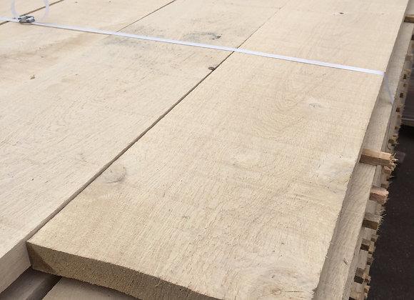 Oak Landscaping Boards 200 x 35 x 2.5/2.6m