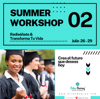 Summer Workshop 02: Redesign Yourself & Transform your life