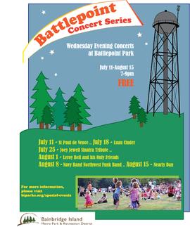 Battlepoint Concert Series Flyer