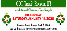 Scout Tree Recycle Banner