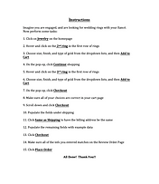 Usability Testing Instructions
