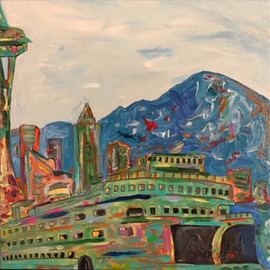 Abstract Seattle Icons 1