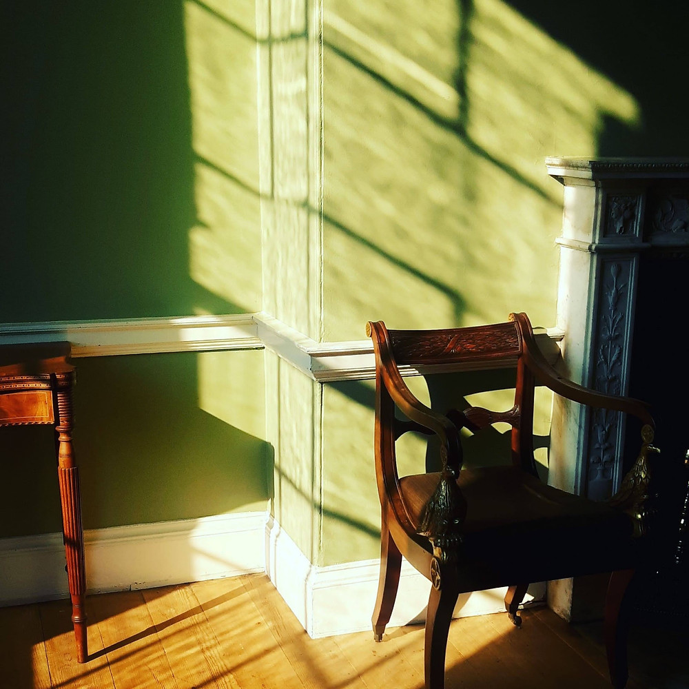 shadows on wall in Woodlawn