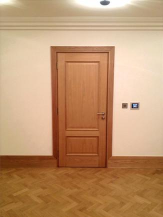 Oak Door & Casing