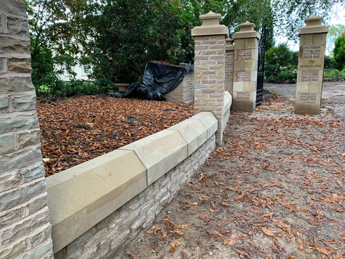 Stone Wall Copings