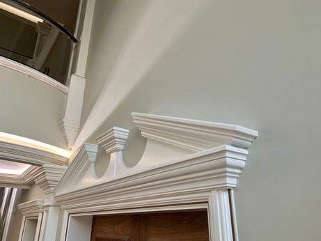 Door Pendiment & Crown Moulding