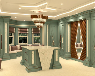Chris Fell Design Mistry Dressing Room 1
