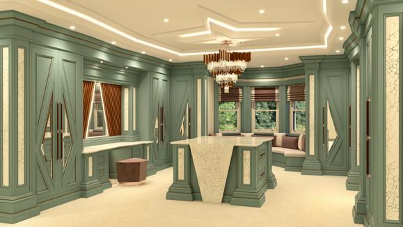 Chris Fell Design Mistry Dressing Room 2