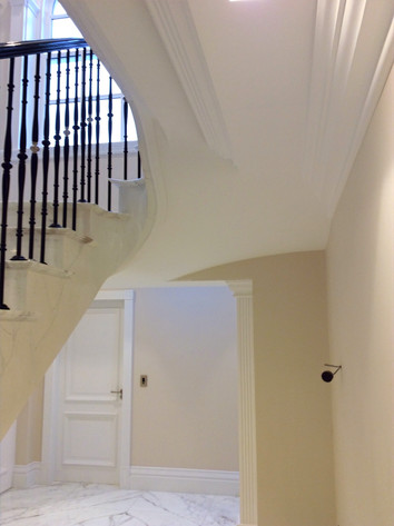 Under Stairs Moulding