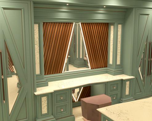 Chris Fell Design Mistry Dressing Room 13
