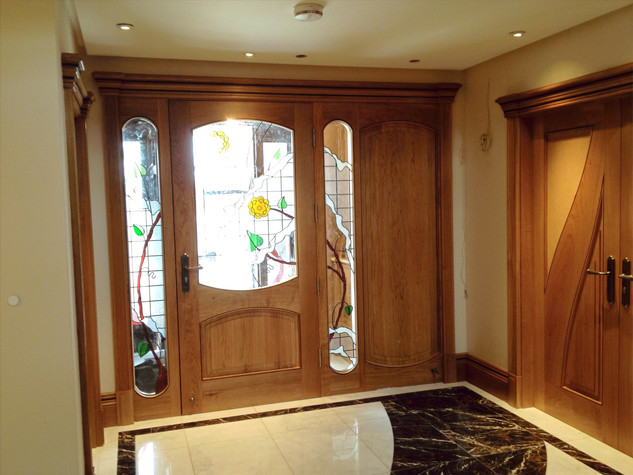 Oak Porch Combination Frame