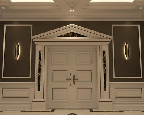 Chris Fell Genius Hallway Door Casing