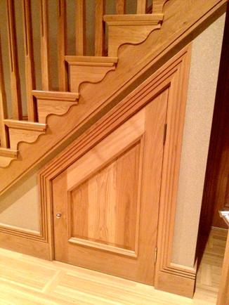 Oak Cupboard & Architraves
